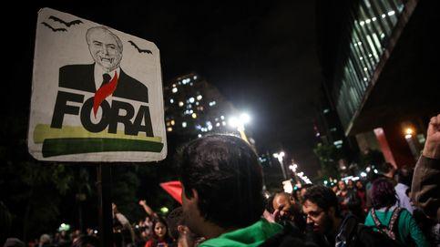 Manifestaciones contra el presidente Temer en Brasil