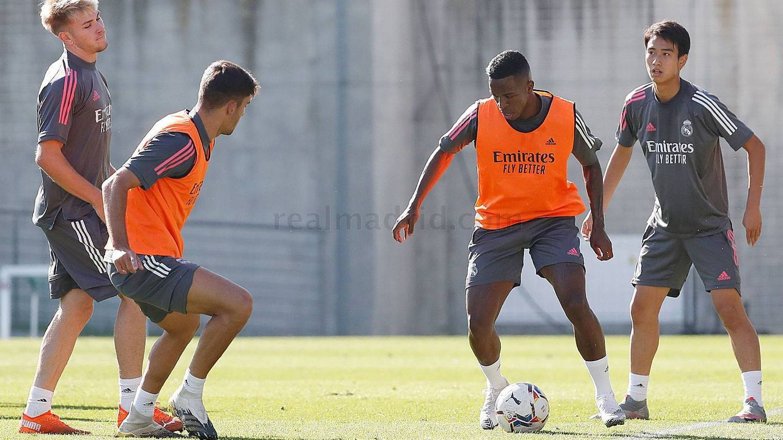 'Pipi' Nakai se ha entrenado con el primer equipo en este parón de selecciones. (Real Madrid)