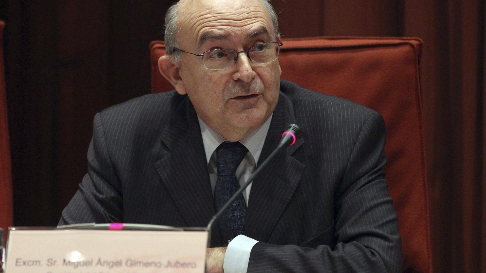 Foto: Miguel Ángel Gimeno ha asumido hoy la jefatura de la Oficina Antifraude de Cataluña. (EFE)
