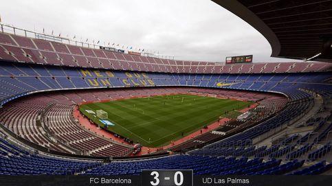 Messi lidera más la victoria más solitaria del Barcelona ante Las Palmas