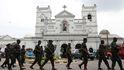 Al menos 16 muertos en una operación policial por los atentados de Sri Lanka