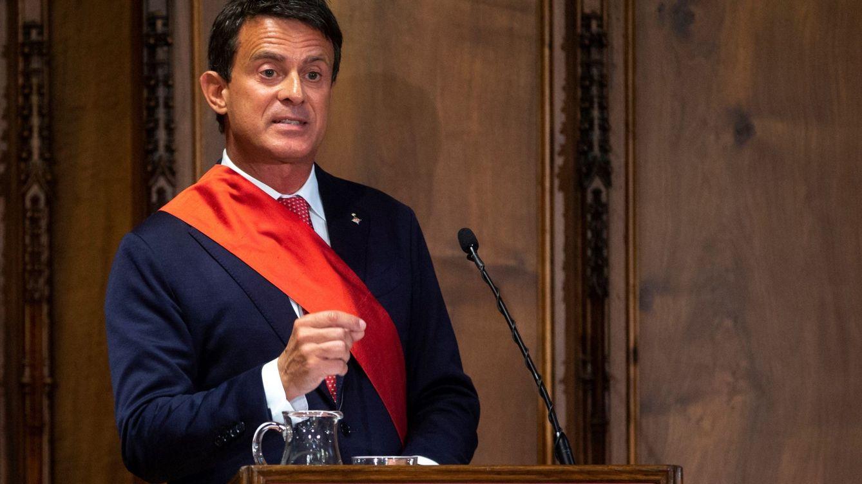 Radicales soberanistas distribuyen la lista de empresarios que ayudaron a Manuel Valls
