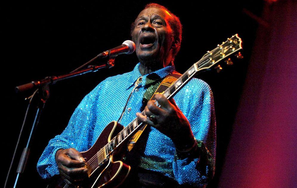 Foto: Chuck Berry. (EFE)