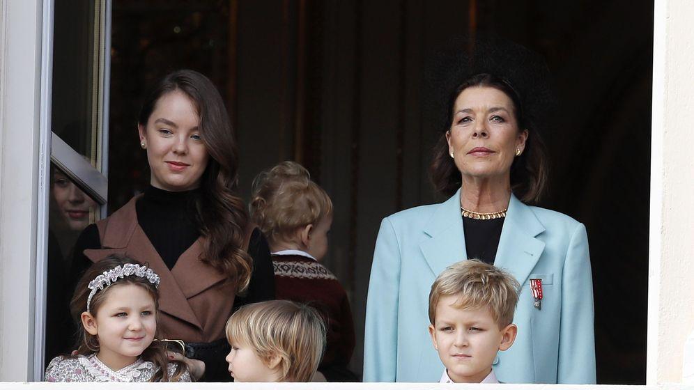 Foto: La princesa, en el reciente Día Nacional de Mónaco. (EFE)
