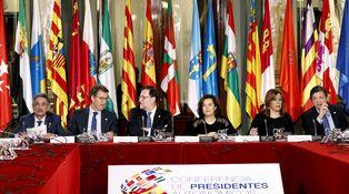 Cumbre autonómica sin Euskadi y Cataluña