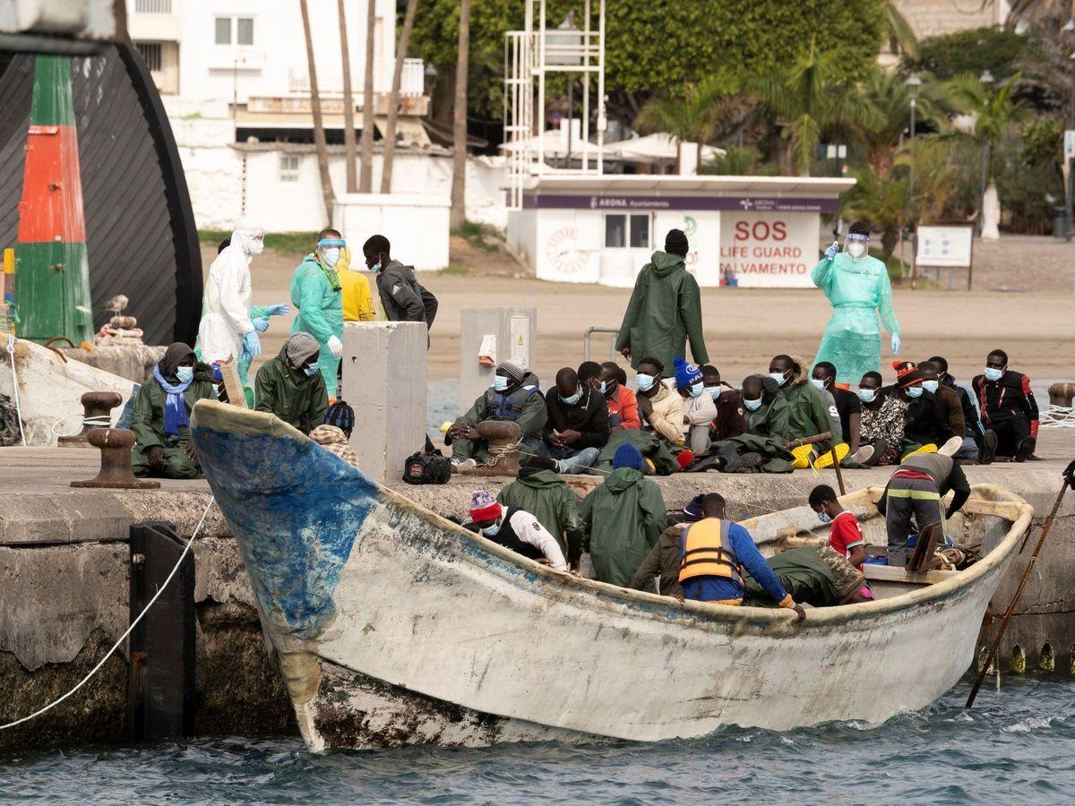 Foto: La llegada de inmigrantes irregulares subió un 29%. (EFE)