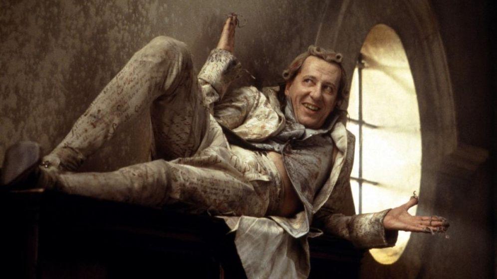 Foto: Geoffrey Rush interpretó al Marqués de Sade en 'Quills'.