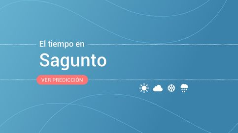 El tiempo en Sagunto / Sagunt para hoy: alerta amarilla por lluvias, tormentas y fenómenos costeros