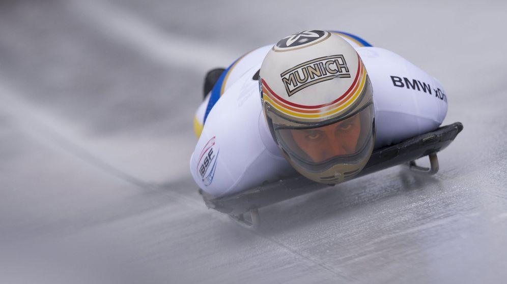 Foto: El piloto de skeleton Ander Mirambell. (EFE)