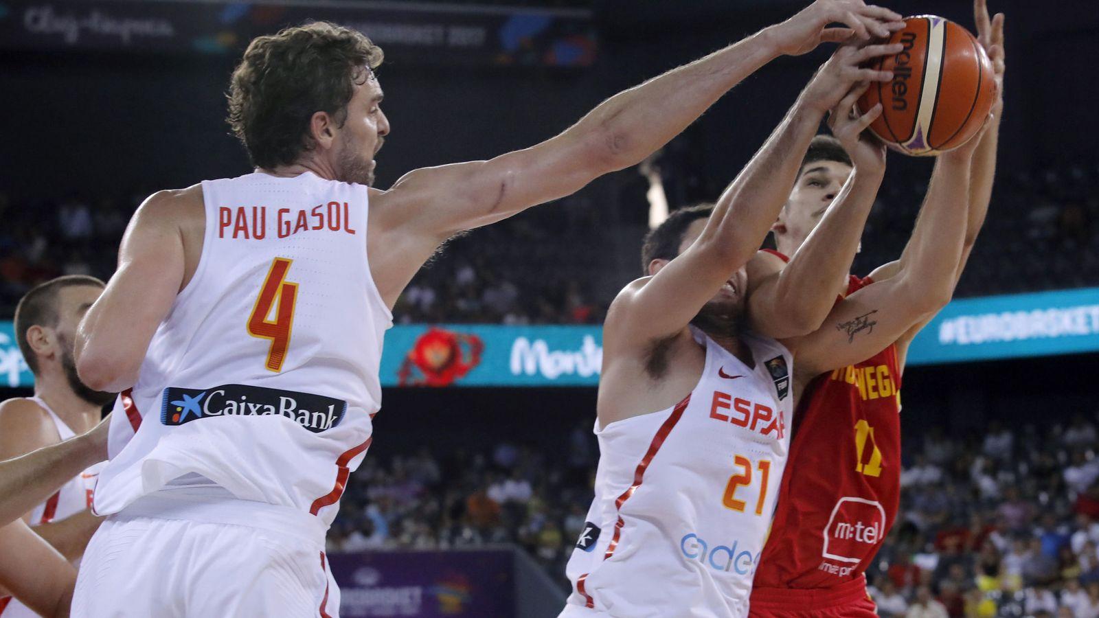 Foto: España ganó por 99-60 en su primer partido en el EUroBasket. (EFE)