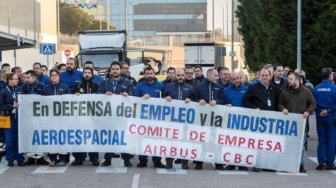 Los trabajadores de Airbus secundan los paros en rechazo al plan de ajuste