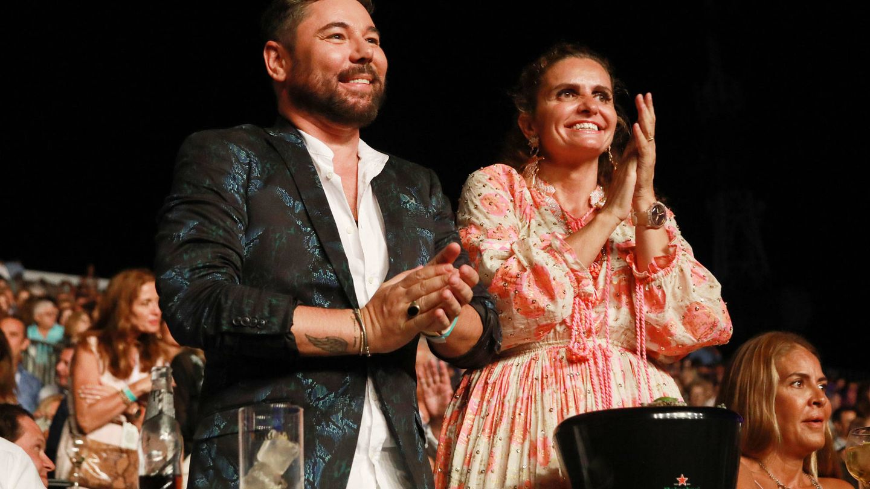 Miguel Poveda y Sandra García Sanjuán. (Starlite)