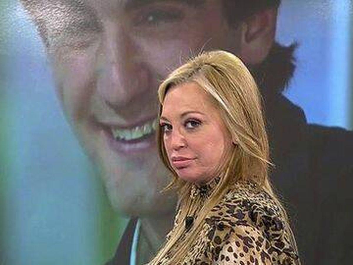 Foto: Belén Esteban, en 'Sálvame'. (Telecinco)