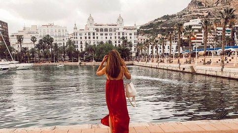 Bañadores a juego, make up de sirena: el verano fashion de Lidia Bedman (Lady Vox)