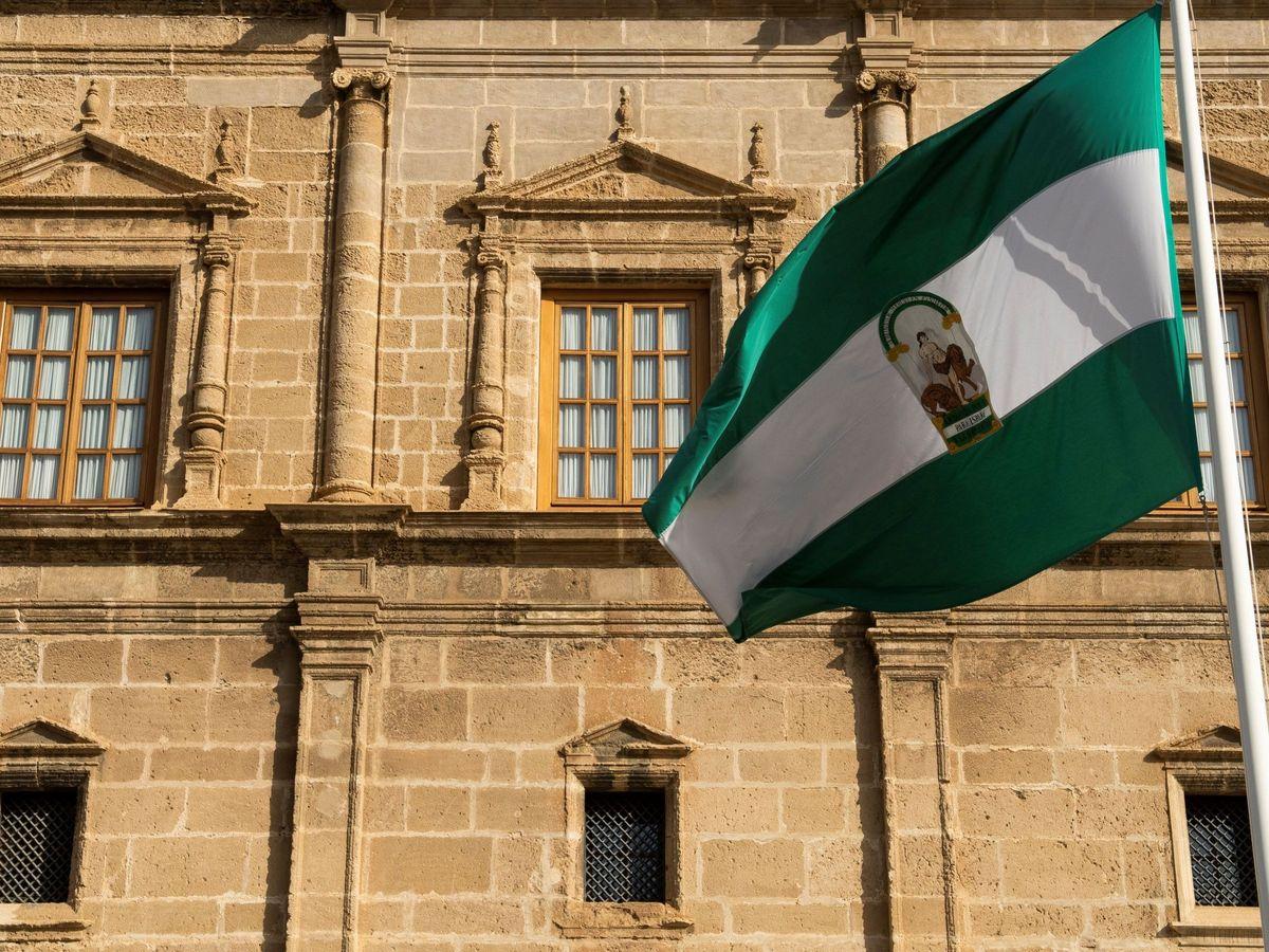 Foto: Bandera de Andalucía. (EFE)