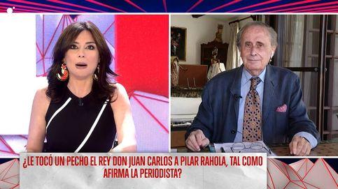 Jaime Peñafiel llama mentirosa a Pilar Rahola y defiende al rey Juan Carlos I