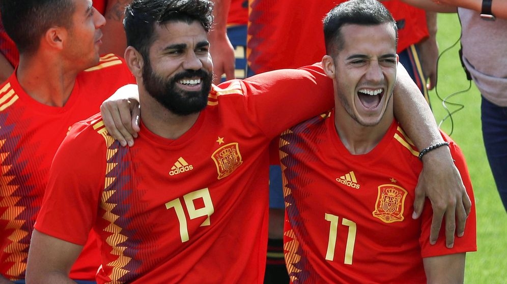 Foto: Entrenamiento selección española | EFE Javier Lizón
