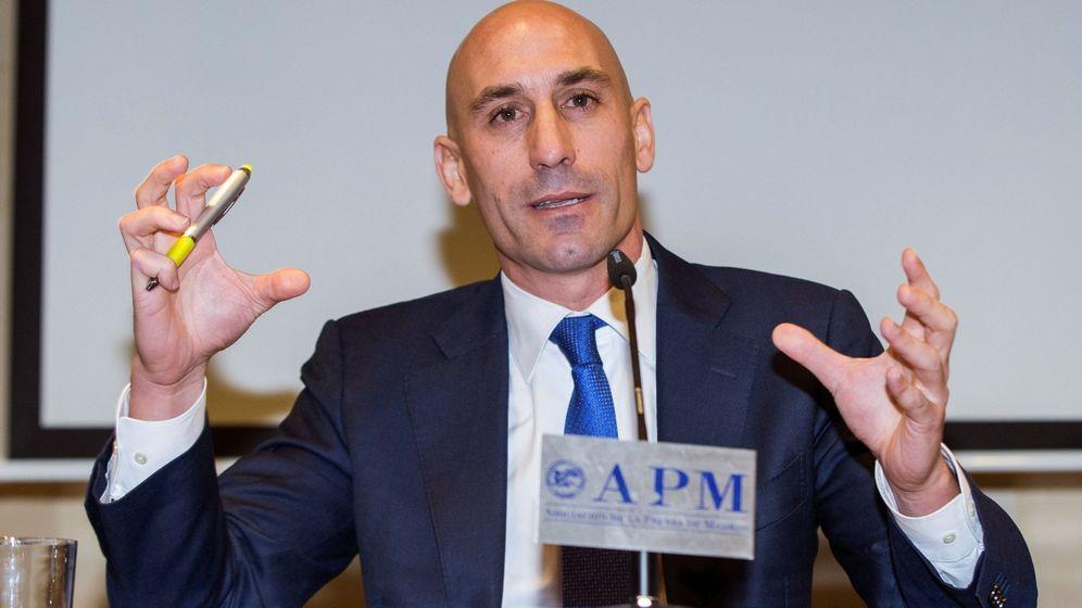 Foto: Luis Rubiales, ex presidente del sindicato de futbolistas AFE. (EFE)