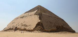 Post de Así es la Pirámide Acodada, la misteriosa estructura oculta desde hace medio siglo