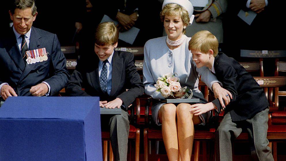 Lady Di: los deseos que Guillermo y Harry le confesaron sobre su futuro en la monarquía