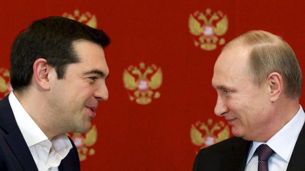 El baile geopolítico de Syriza con Putin, el 'amante pudiente'