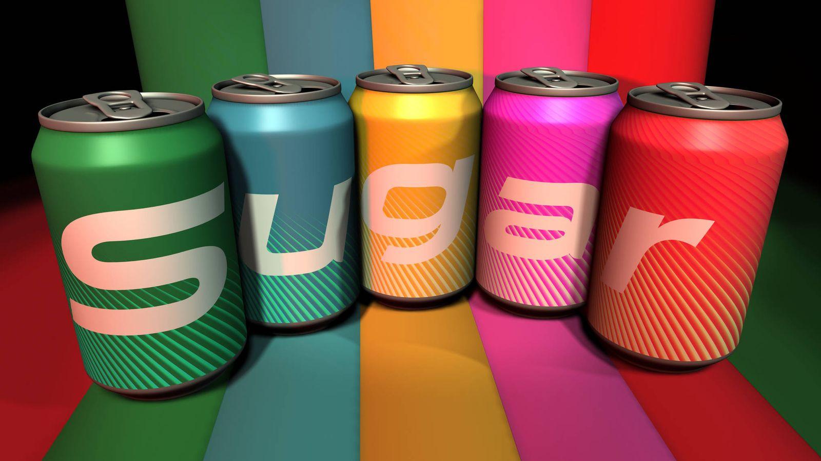 Foto: Refrescos con azúcares añadidos. (iStock)