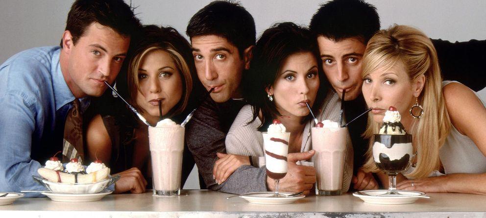 Foto: Imagen promocional de los protagonistas de 'Friends'