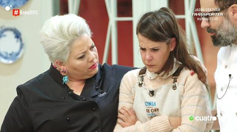 Los concursantes de 'Bake Off España' aíslan a Sonia y rompe a llorar frente a los jueces