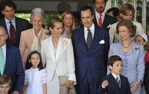 El afectuoso reencuentro entre la infanta Elena y Jaime de Marichalar