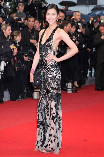 Actress Liu Wen at the screening of Love at the 65th international film festival, in Cannes, southern France, Sunday, May 20, 2012