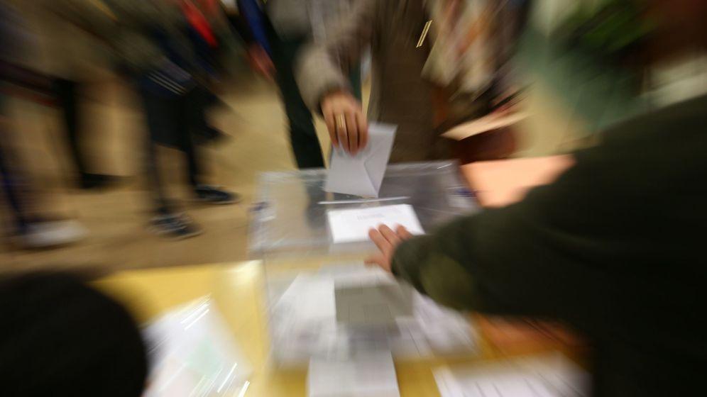 Foto: Elecciones generales en Madrid (EFE)