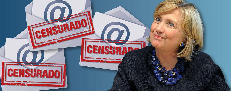 Foto: Hillary Clinton en un fotomontaje realizado por 'Vanitatis'