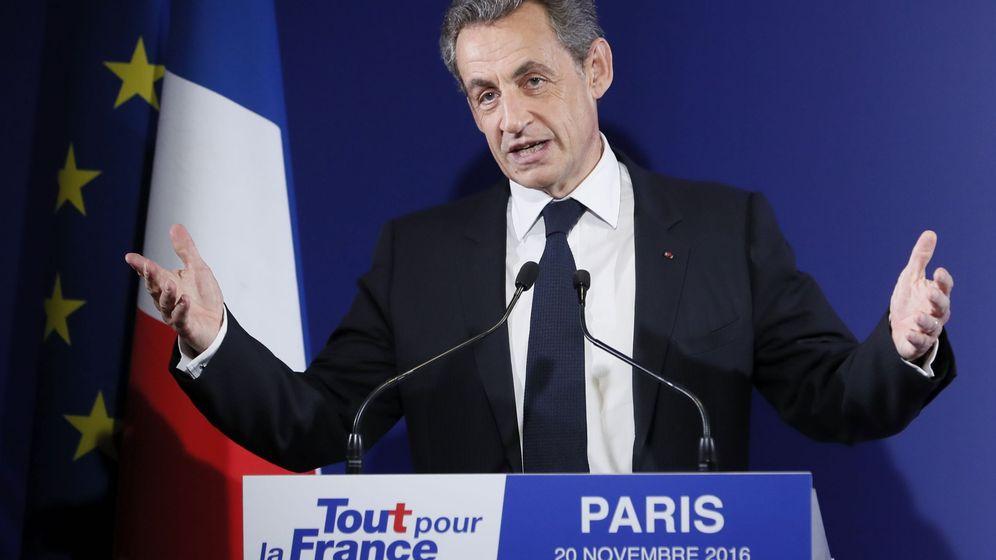 Foto: El expresidente francés Nicolas Sarkoz. (EFE)