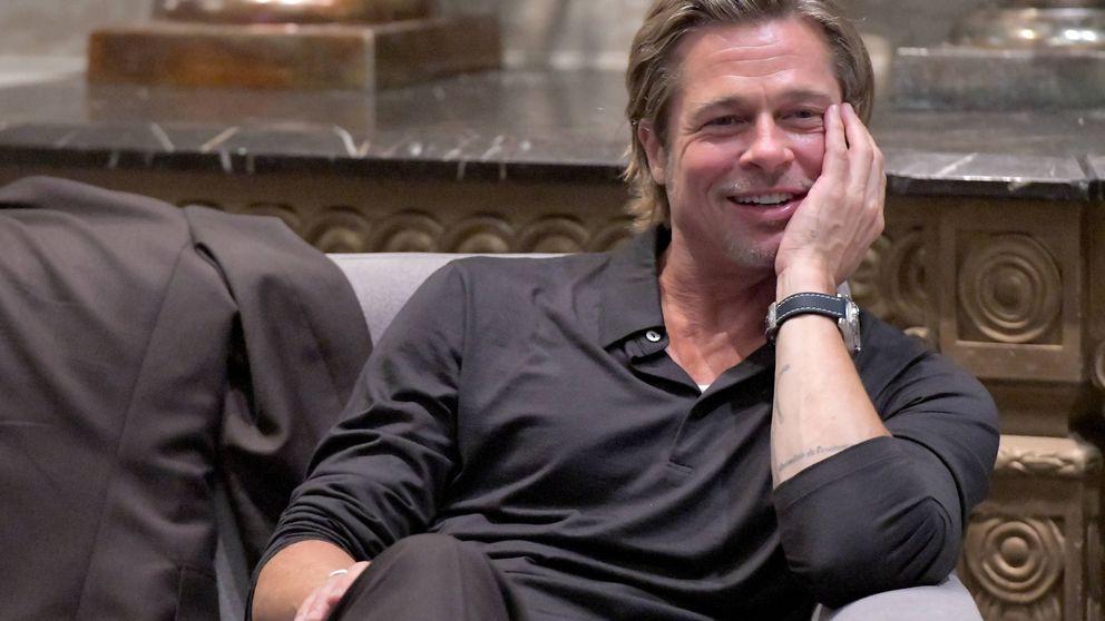 Brad Pitt: ¿enamorado de nuevo? Estas fotos podrían confirmarlo...