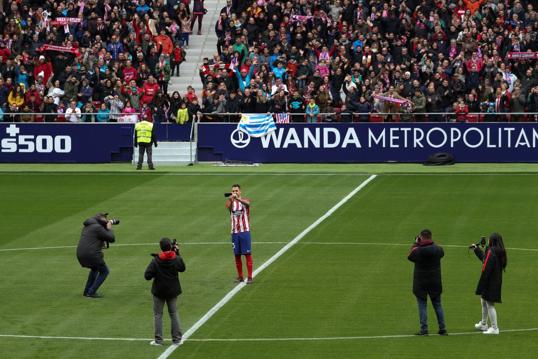 Atlético de Madrid  Más de 25.000 aficionados dan la bienvenida a ... 22a267f2aff42