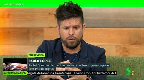 Pablo López defiende el polémico y multitudinario concierto de Raphael