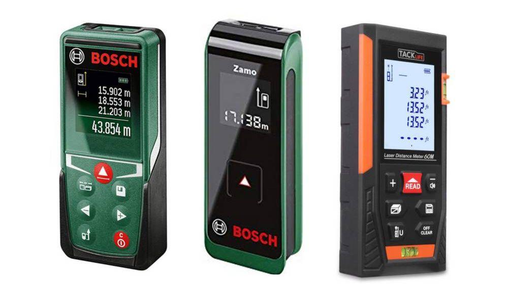 Foto: Los mejores medidores láser de distancias