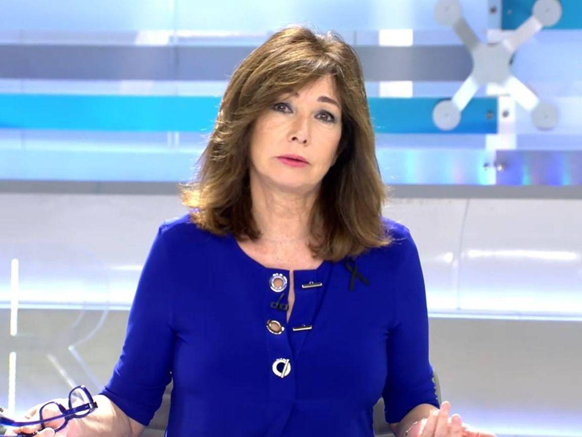 Foto: La presentadora Ana Rosa. (Mediaset)