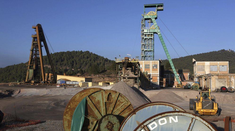 Foto: Vista de los exteriores de la mina de Iberpotash en Súria. (EFE)