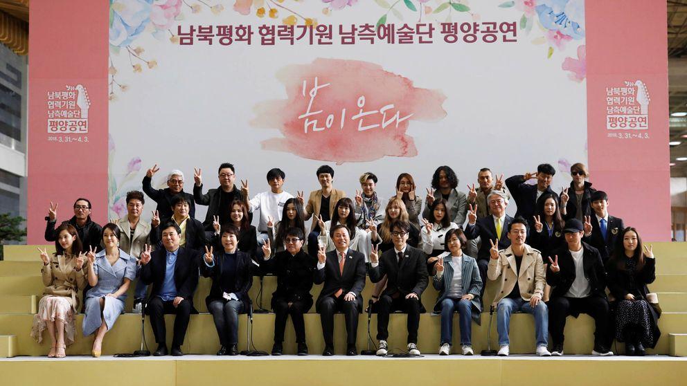 Las estrellas del K-Pop conquistan Corea del Norte