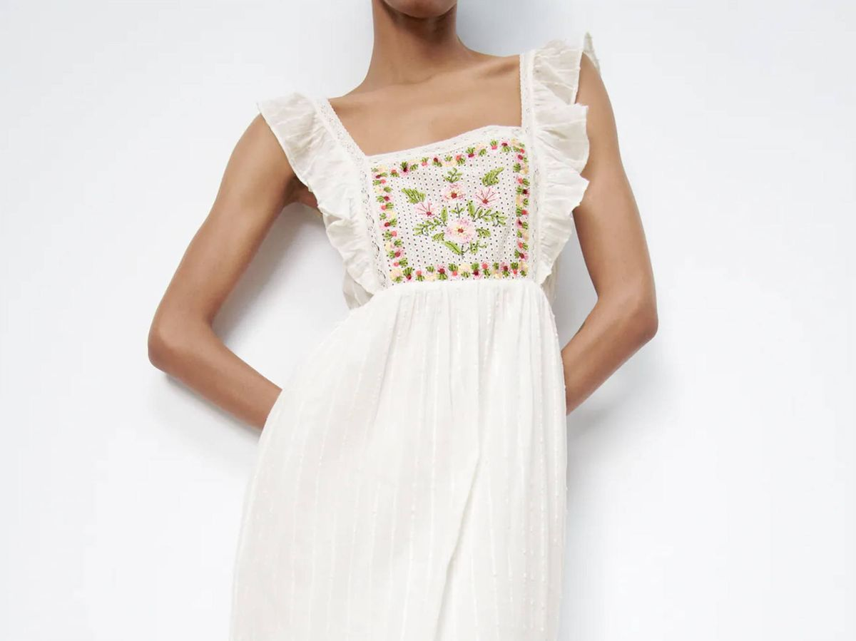 Foto: Vestido de Zara. (Cortesía)