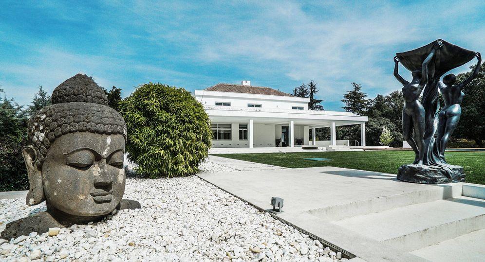 Foto: Exterior de la casa donde se ha rodado La Verdad, la nueva serie estrella de Telecinco. (Ibermaison Real State)