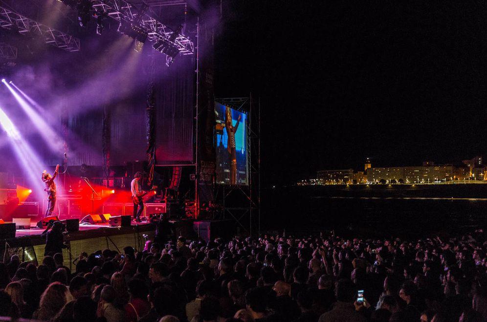 Foto: Kaiser Chiefs en su actuación en el Festival Noroeste (Concello da Coruña)