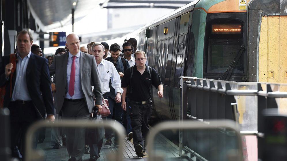 Foto: Estación de tren en Reino Unido
