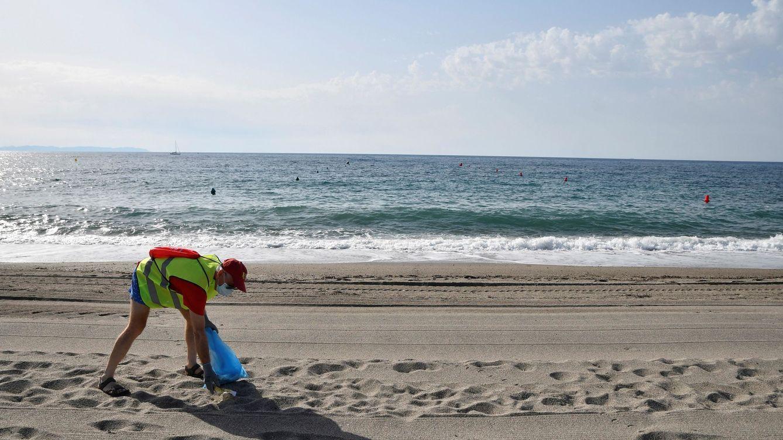 Así es la lucha por limpiar los diversos entornos marinos de 'basuraleza'