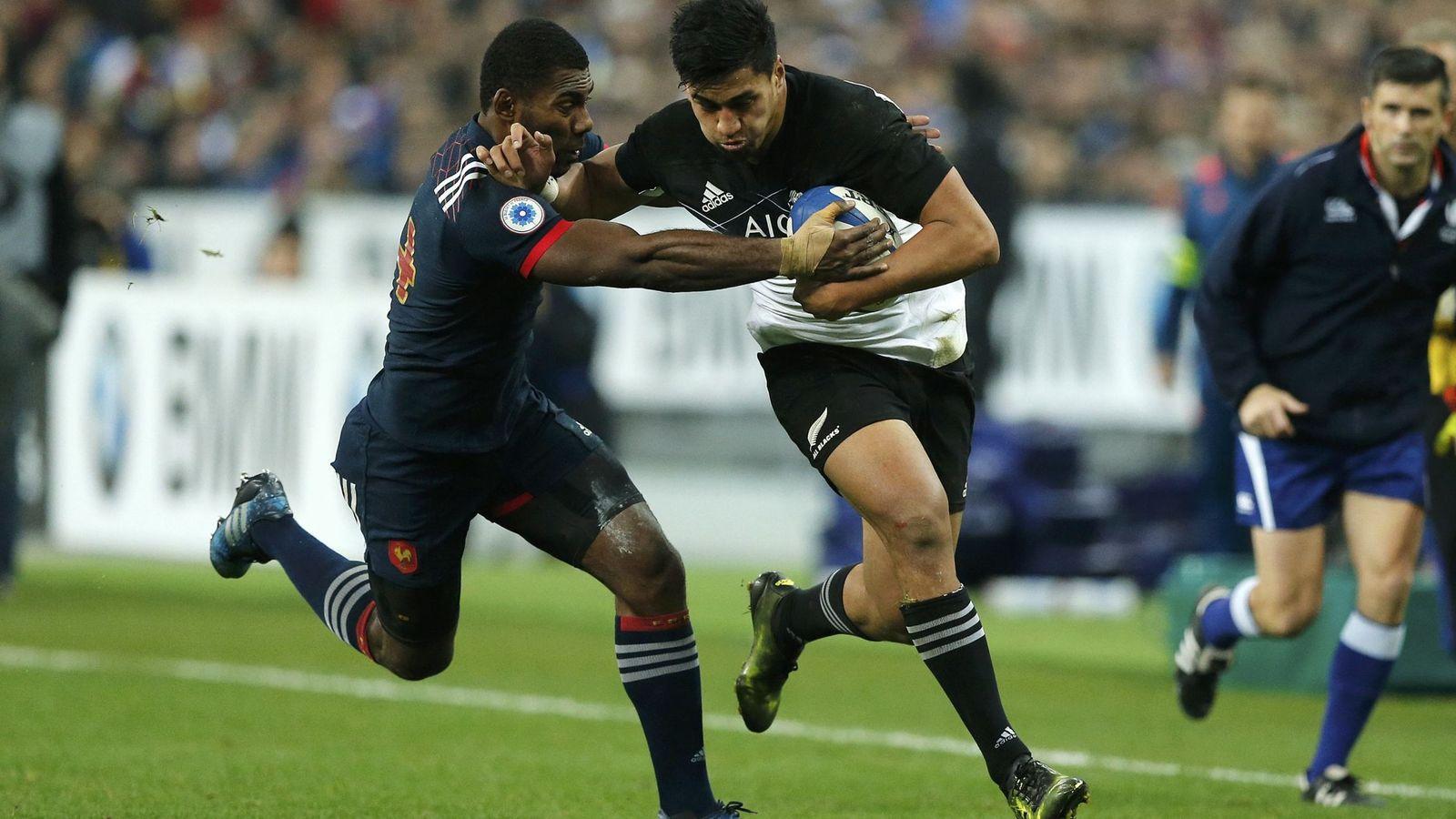 Foto: Imagen de un Francia-Nueva Zelanda disputado el año pasado en París. (REUTERS)