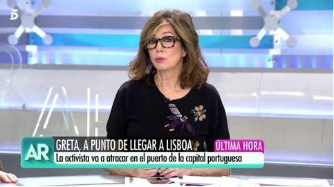 Ana Rosa se posiciona al lado de Frank Cuesta en la polémica de Greta Thunberg