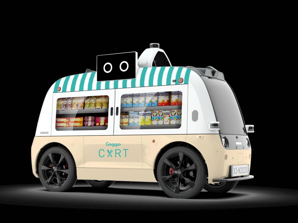 Foto: El Goggo Cart ha sido desarrollado por Goggo Network, una empresa con sede en Madrid y dedicada al transporte sin conductor.