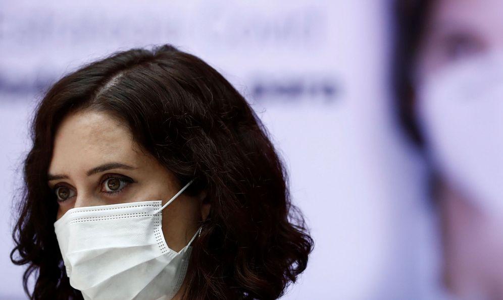 Foto: La presidenta de la Comunidad de Madrid, Isabel Díaz Ayuso. (Foto: EfE)
