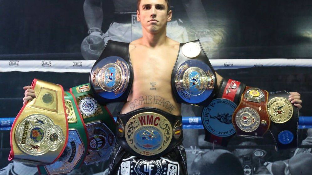 Foto: Jonathan Fabián es ocho veces campeón de España de muay thai (Jonathan Fabián)